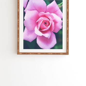 Allyson Johnson Darling Pink Rose Framed Wall Art