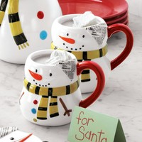 Snowman Mugs | Sur La Table