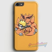 Uzumaki Naruto And Kurama The Kyuubi iPhone 7 Case | casefantasy