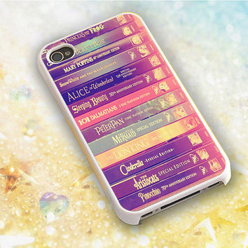 disney book cell phone case for iPhone 4/4s/5/5c/5/5s/6/6 plus and samsung galaxy s3/s4