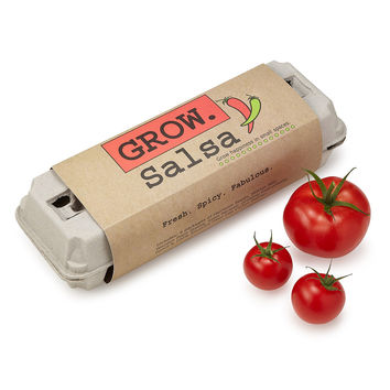 Salsa Grow Kit | gardening kit, diy recipe