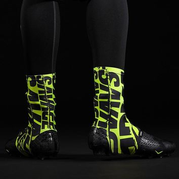 Savage Chroma Safety Yellow Spats / Cleat Covers