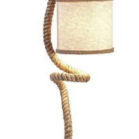 Binnacle Rope Table Lamp - Nautical Table Lamps - Unique Lamps | HomeDecorators.com