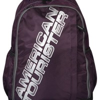 Purple/Grey Backpack
