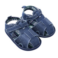 Summer Baby Boy Girl Cozy Cotton Kids Shoes Infant Soft Demin Toddler Shoes New
