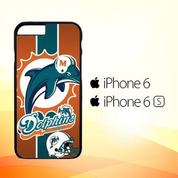 Miami Dolphins Z2995 iPhone 6|6S Case