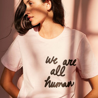 The Style Club We Are All Human Tee | Urban Outfitters