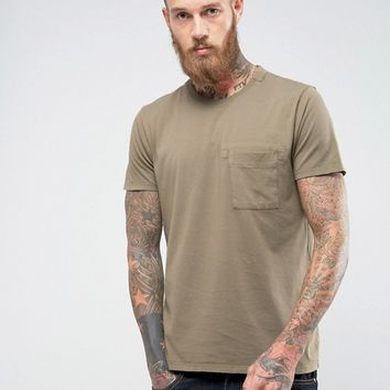 Nudie Jeans Co Anders Mended T-Shirt at asos.com