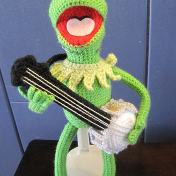 Kermit the Frog Inspired Amigurumi Crochet Pattern