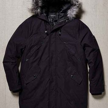 Members Only Snorkel Fishtail Faux Fur Parka Jacket