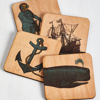 Nautical Nautical by Nature Coasters by ModCloth