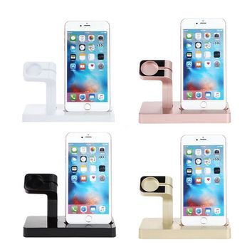 Charging Dock Stand Holder For Apple Watch and iPhone
