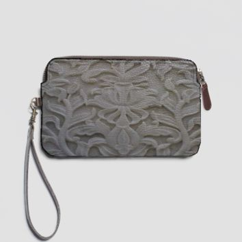 Carved Marble L Clutch 1