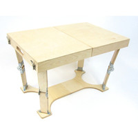 Spiderlegs CCT1828-NB Hand Crafted Folding Coffee Table in Natural Birch