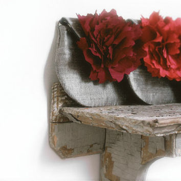 autumn wedding, burgundy silk purses to match your wedding colors, ruby red, salmon, maroon