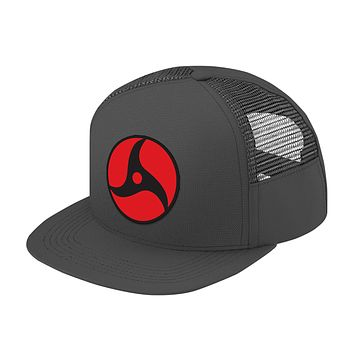 Naruto Itachi Eye Symbol Trucker Hat - PF00305TH