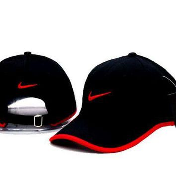 DCCK7BW Cool NIKE GOLF NEW Adjustable Fit DRI FIT SWOOSH FRONT BASEBALL CAP HAT