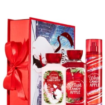 Holiday Traditions Gift Set Winter Candy Apple