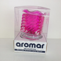 square Pink Electric Lamp
