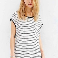 Somedays Lovin Gobi Striped Tee- White