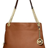 MICHAEL Michael Kors 'Jet Set Chain' Leather Shoulder Bag