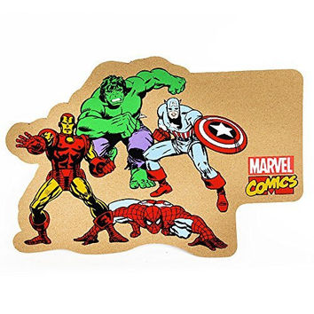 Marvel Comics Mixed Character Cork Pin Memo Board