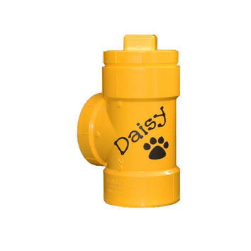 Personalized canine gift, personalized jar,personalized treat jar, personalized hydrant,personalized dog,personalized cookie jar, pet name