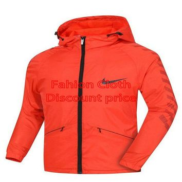 Nike Windrunner Jacket 8098 L-4XL 2018 Nike New Style Clothing Red