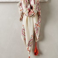 Paola Bandana Scarf by Anthropologie Ivory All Scarves