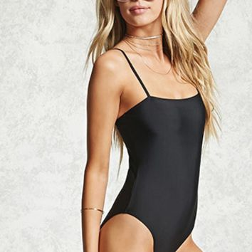 Stretch Knit One-Piece