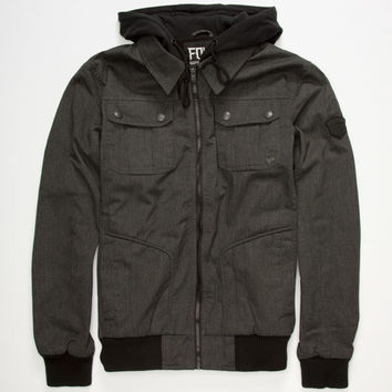 Fox Hostage Mens Jacket Charcoal  In Sizes