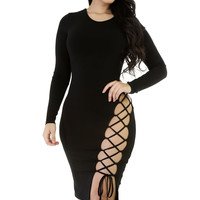 Back Off Dress- Black