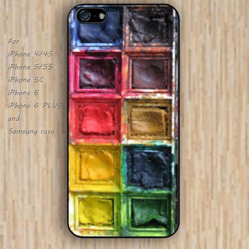 iPhone 5s 6 case watercolor box dream catcher colorful phone case iphone case,ipod case,samsung galaxy case available plastic rubber case waterproof B607
