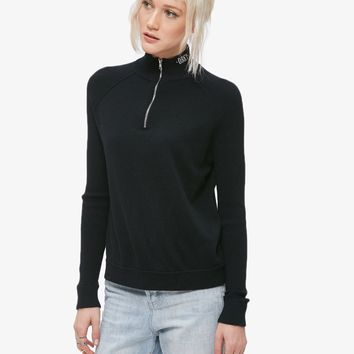 Binx Mock Zip Sweater