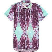 Afends Rolling Stoned Short Sleeve Woven Shirt - Mens Shirts - Multi