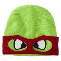 Men's Teenage Mutant Ninja Turtle Knit Cap with Mask - Raphael Red