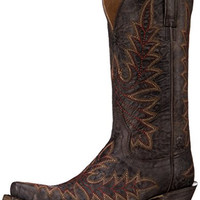 Ariat Women's Brooklyn Western Cowboy Boot, Coffee, 8.5 B US