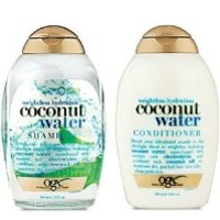 Organix Weightless Hydration Coconut Water Shampoo/Conditioner Set 13oz