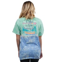 Preppy Lake - Tie Dye - SS - Adult T-shirt