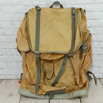 Vintage Kurz Model 11 Military Rucksack Hiking Backpack