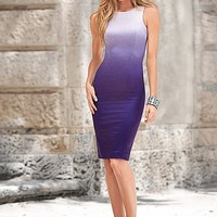 PURPLE MULTI Ombre dress from VENUS