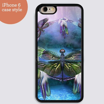 iphone 6 cover,dream catcher Dragonfly iphone 6 plus,Feather IPhone 4,4s case,color IPhone 5s,vivid IPhone 5c,IPhone 5 case Waterproof 406