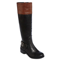 Arizona Dylan Two-Tone Womens Riding Boots - JCPenney