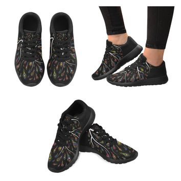 Peacock Feather Women's Running Shoes
