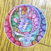 Grateful Dead Steal Your Jerry Outside Vinyl Sticker -- 4 inches