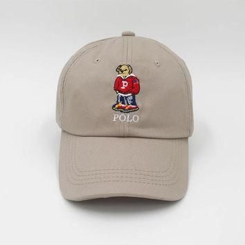 Polo Bear Dad Hat