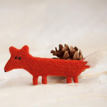 RUBIHOME 1 Set DIY Wool Needle Felting Materail Package Craft Love Animals Cat Dog Fox Design for Brooch Accessories