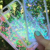 SALE: Liquid Holographic Glitter iPhone Case