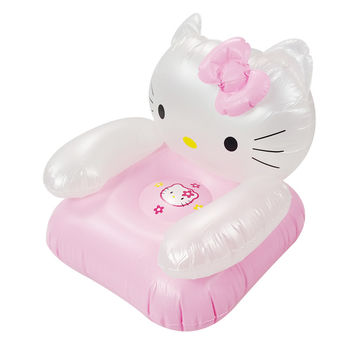Portable Cartoon  inflatable Cat Sofa Seat for Children ages 2 to 6 years old