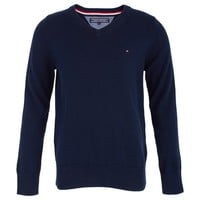 Navy Cotton Sweater